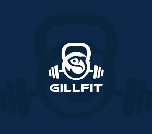Online Fitness Logos