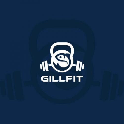 Fitness clothing logos