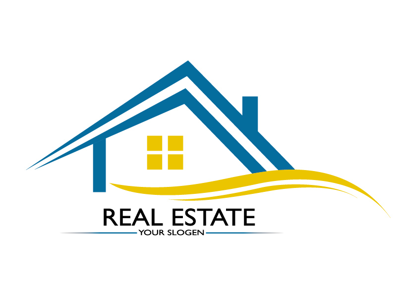Real Estate  by Graphixzone  a perfect logo for Real Estate & Mortgage