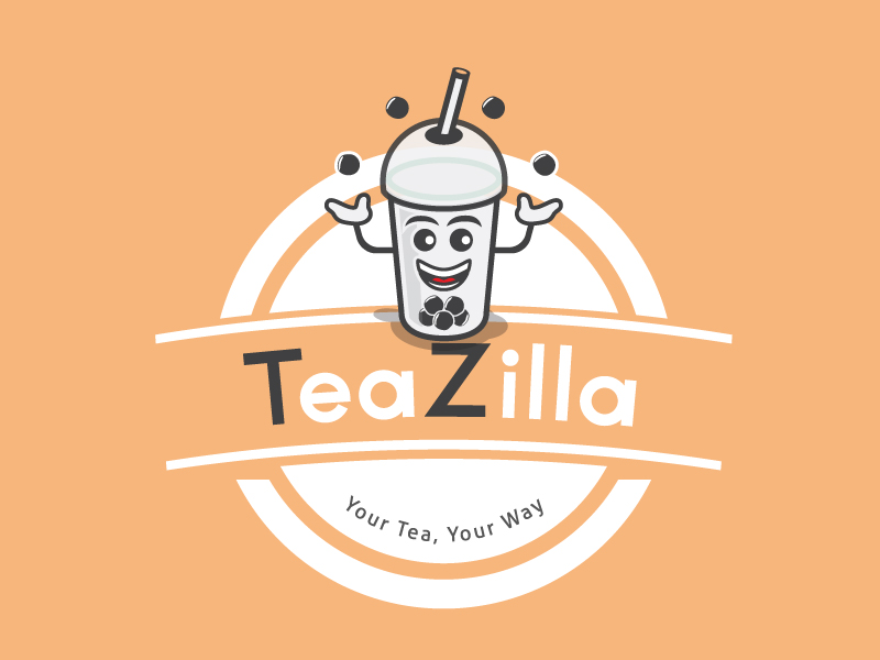 TeaZilla by Nndesigns  a perfect logo for Restaurant