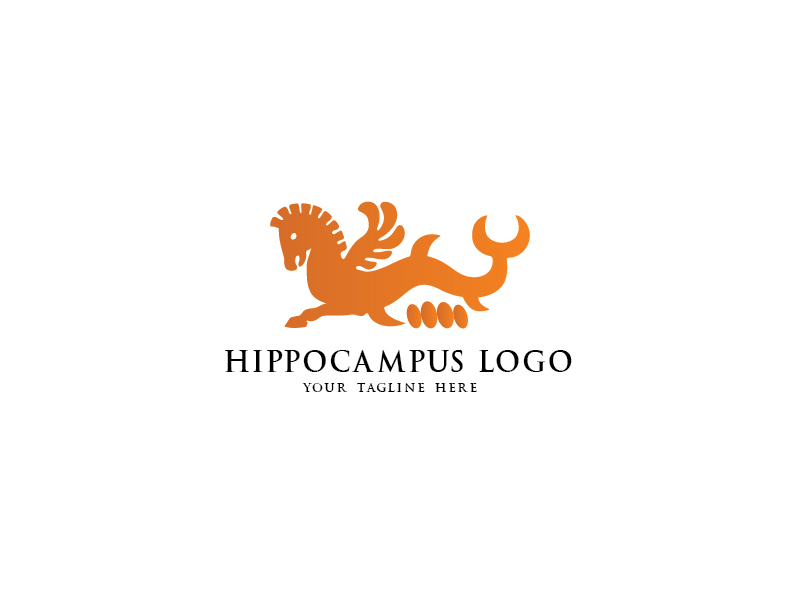 Hippocampus by esvarfi  a perfect logo for Animals & Pets