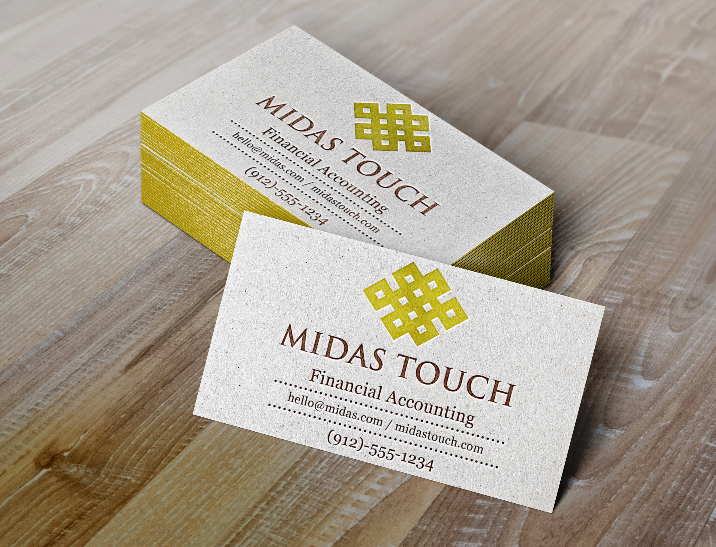 Midas Touch  by grafico.molina  a perfect logo for Accounting & Financial