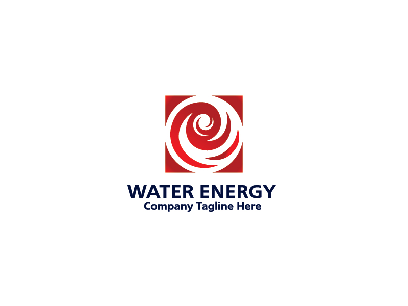 Water Energy by esvarfi  a perfect logo for Industrial