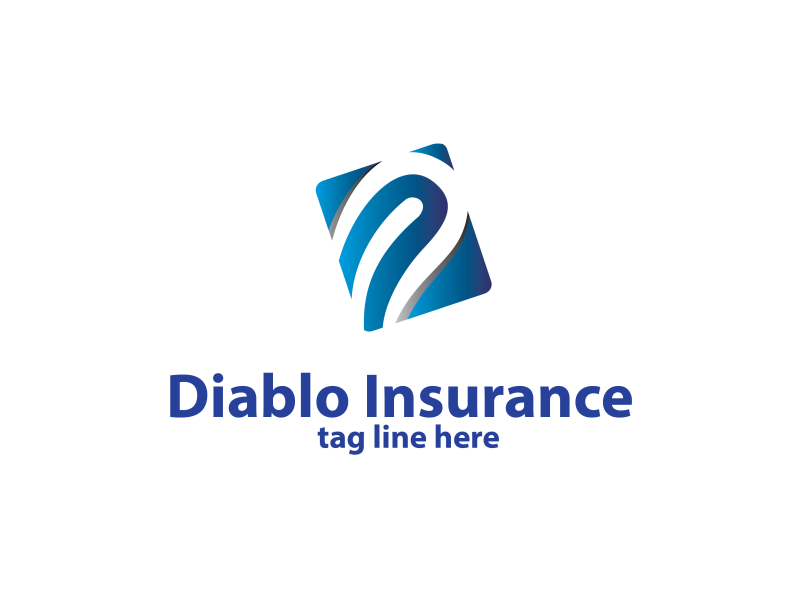 letter d insurance logo template by Dido  a perfect logo for Accounting & Financial