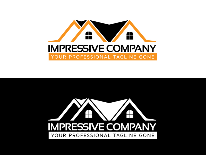 Cleaning & Maintenance by Creative Pro  a perfect logo for Real Estate & Mortgage