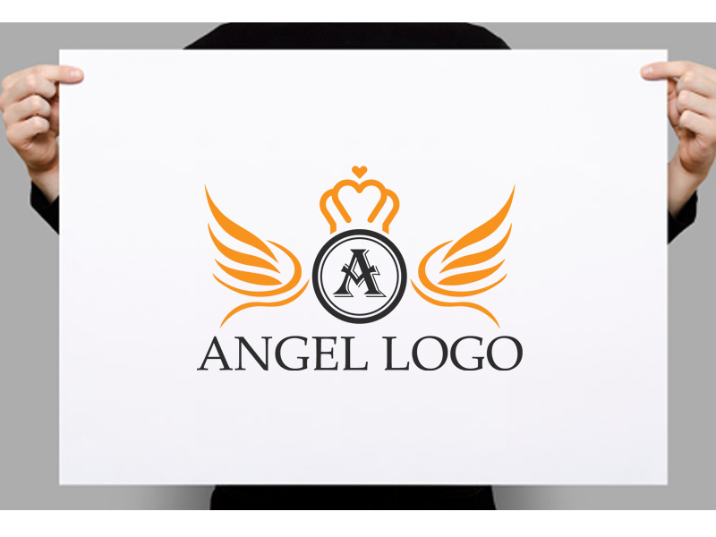 Angel Logo Design by Creative Pro  a perfect logo for Spa & Esthetics