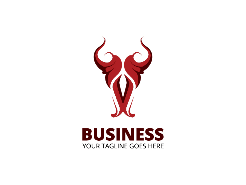 Bull by Avriel  a perfect logo for Accounting & Financial