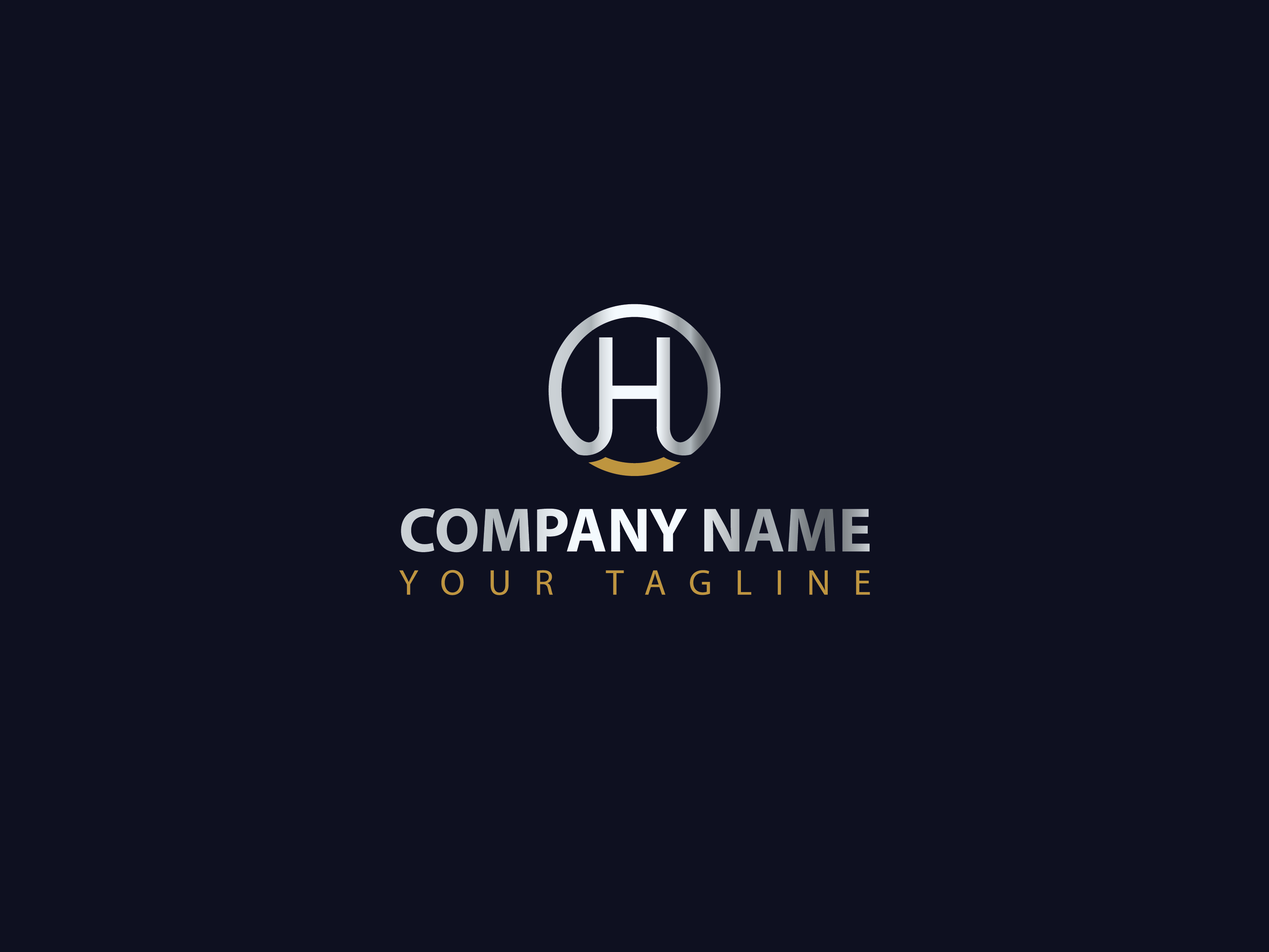 H logo by attraaxx  a perfect logo for Business & Consulting