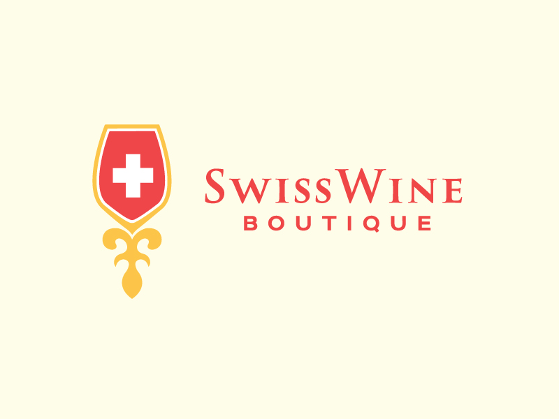 Swiss Wine by Raaja090  a perfect logo for Retail