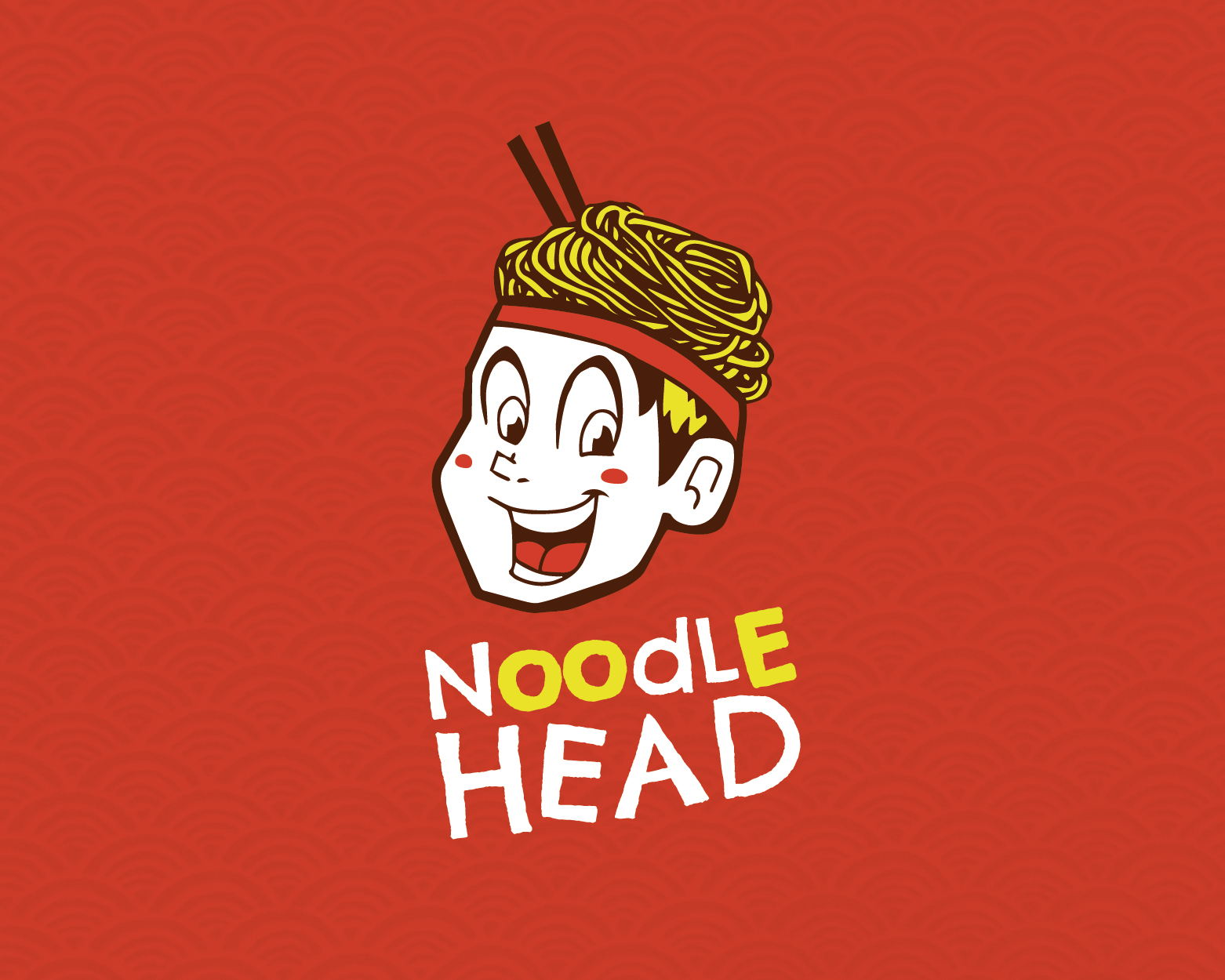 Noodle Head by bluedward  a perfect logo for Restaurant