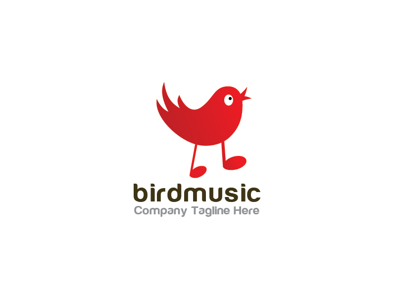 Bird Music by esvarfi  a perfect logo for Entertainment & The Arts