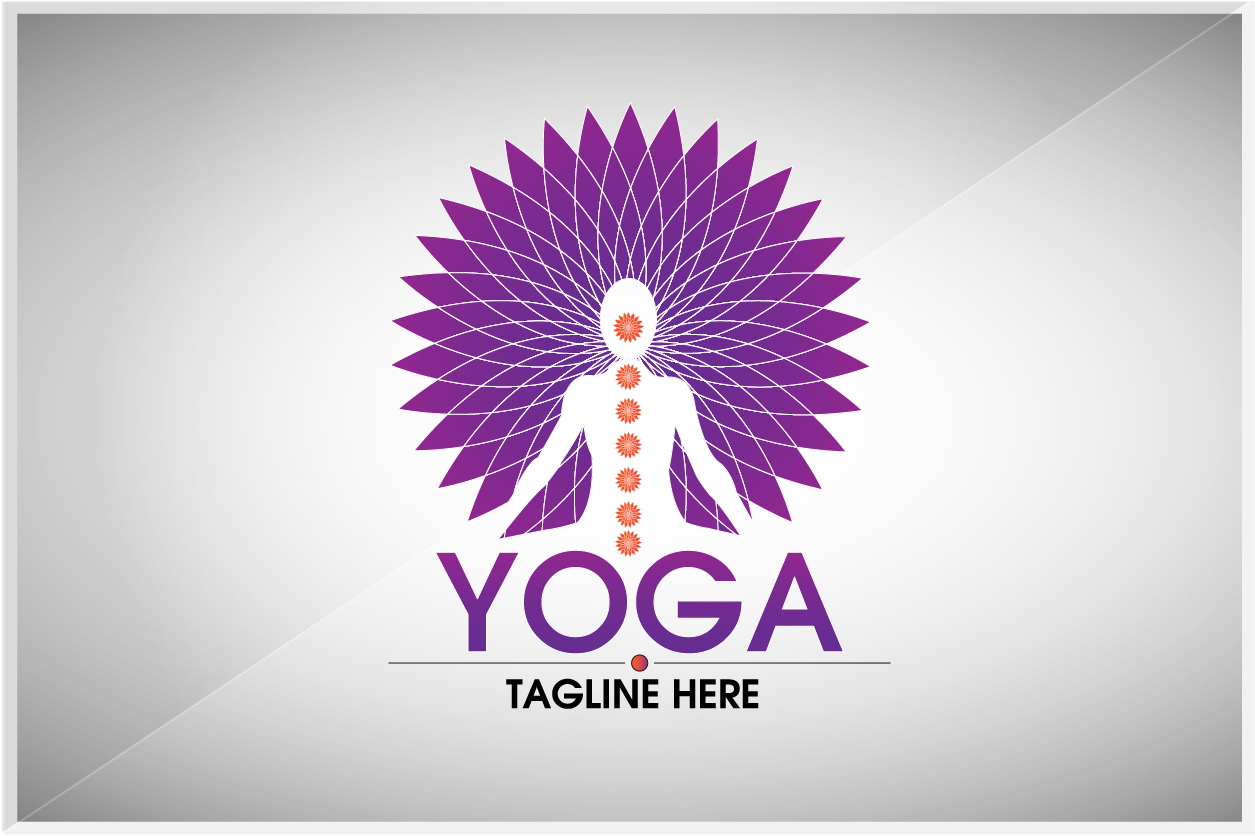 YOGA by Legend  a perfect logo for Physical Fitness