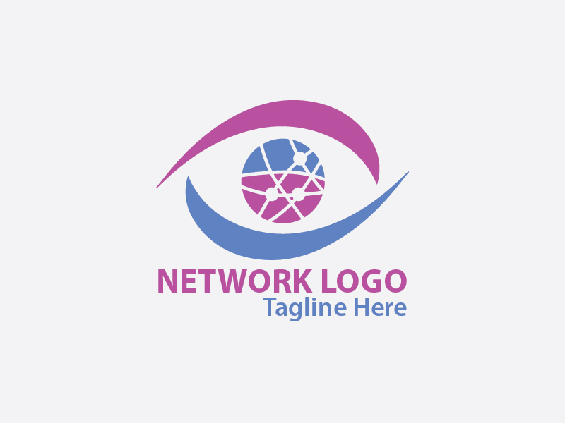 Networking Logo by Spectrum  a perfect logo for Internet