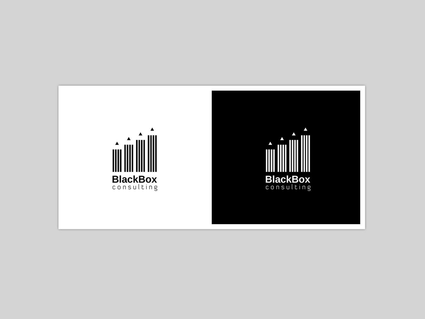 black Box Consulting by   a perfect logo for Accounting & Financial