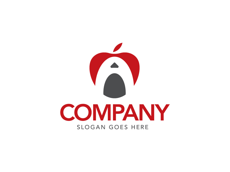 Letter A Apple Logo by logolabsofficial  a perfect logo for Retail