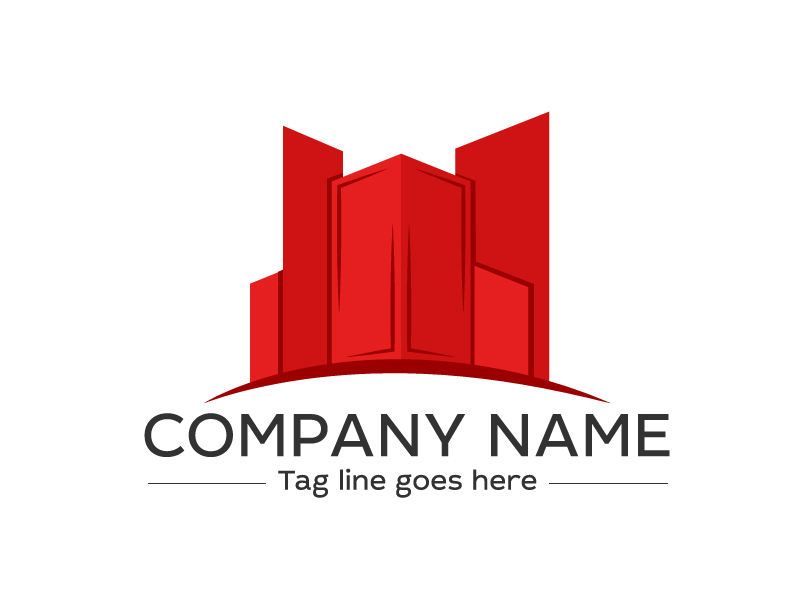 Building logo  by davis  a perfect logo for Industrial