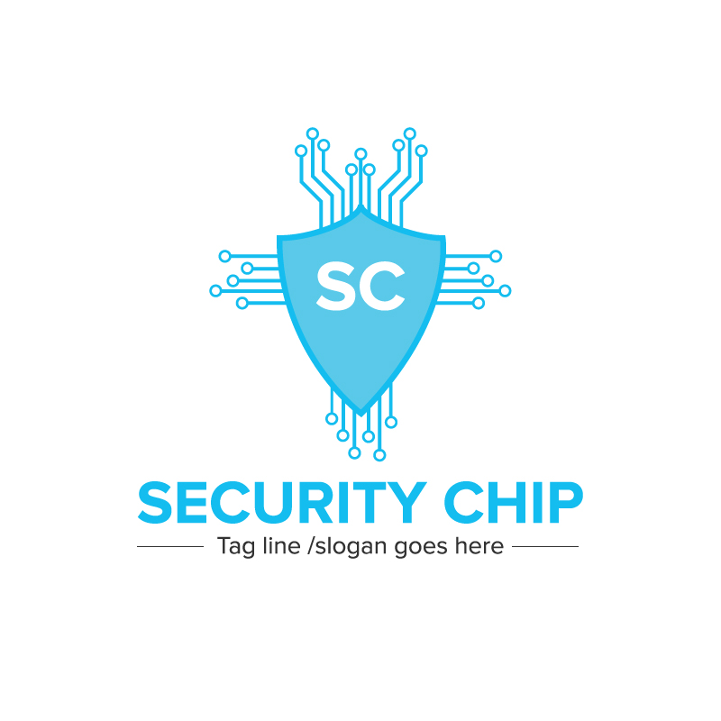 Security Logo by Medi S  a perfect logo for Security