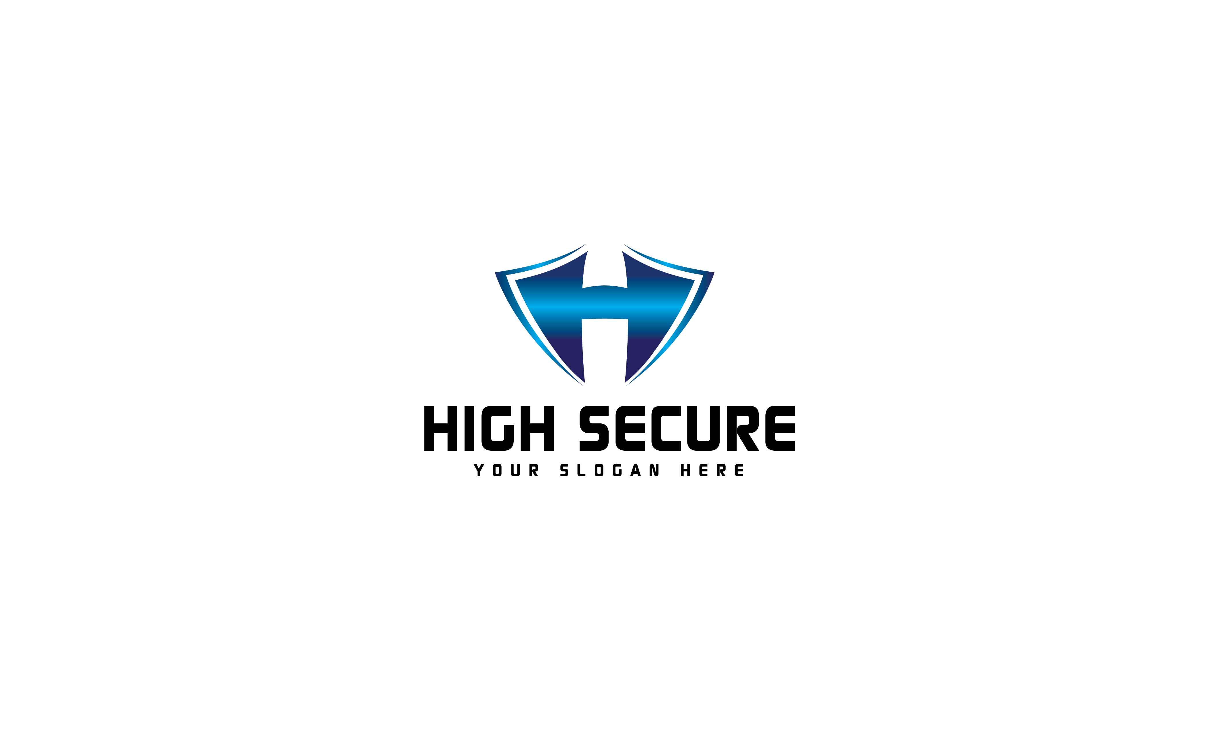 HighSecure Logo by Theuniquestudios  a perfect logo for Security