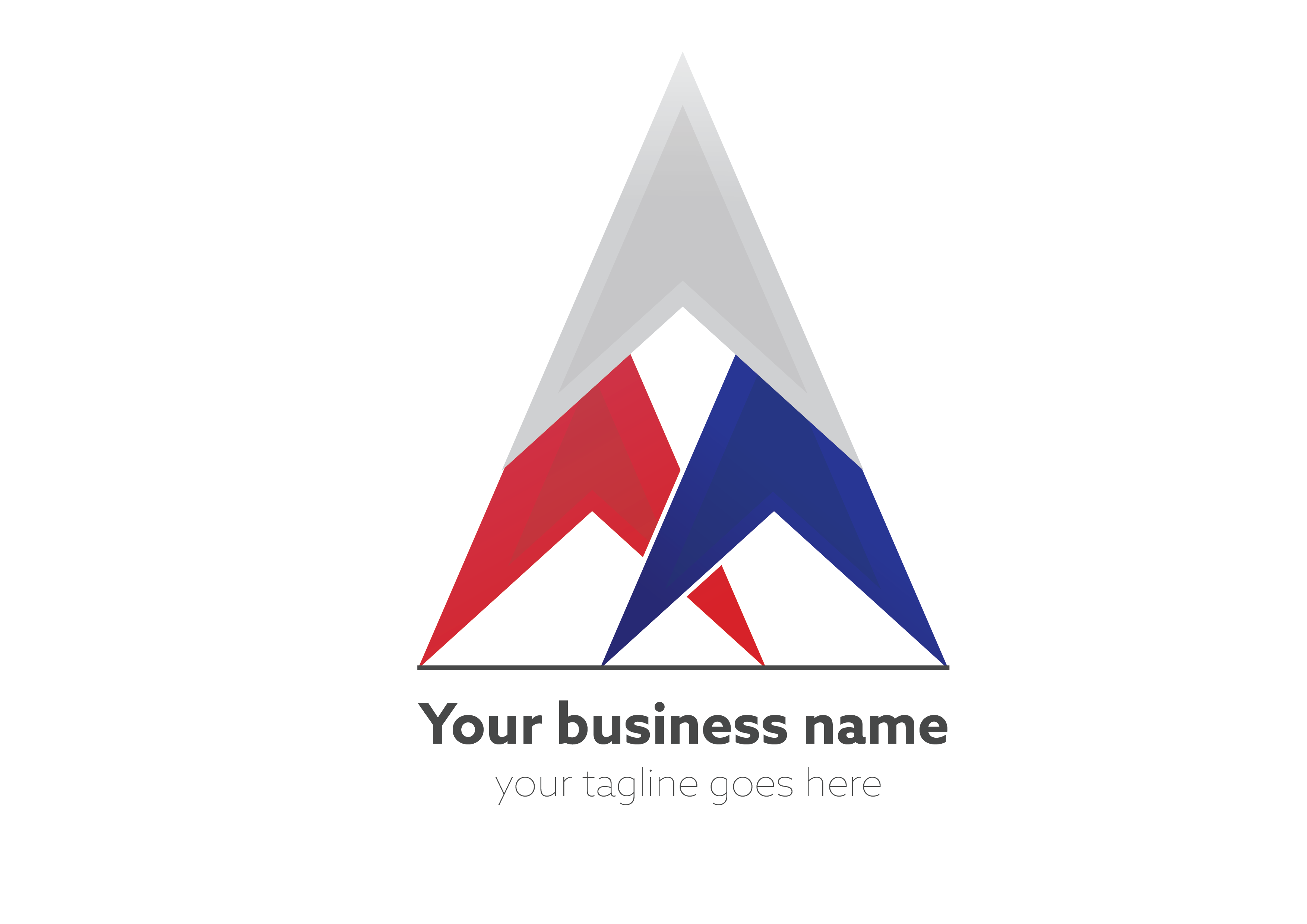 Business star by Eugene Golovanchuk  a perfect logo for Accounting & Financial