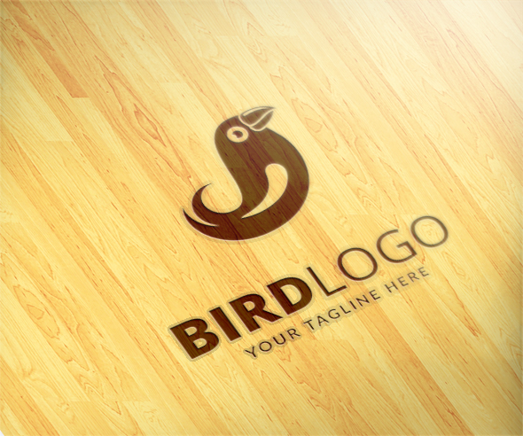 Bird Logo by Maraz  a perfect logo for Animals & Pets