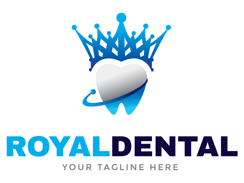 Royal Dental Logo by Maraz  a perfect logo for Medical & Pharmaceutical