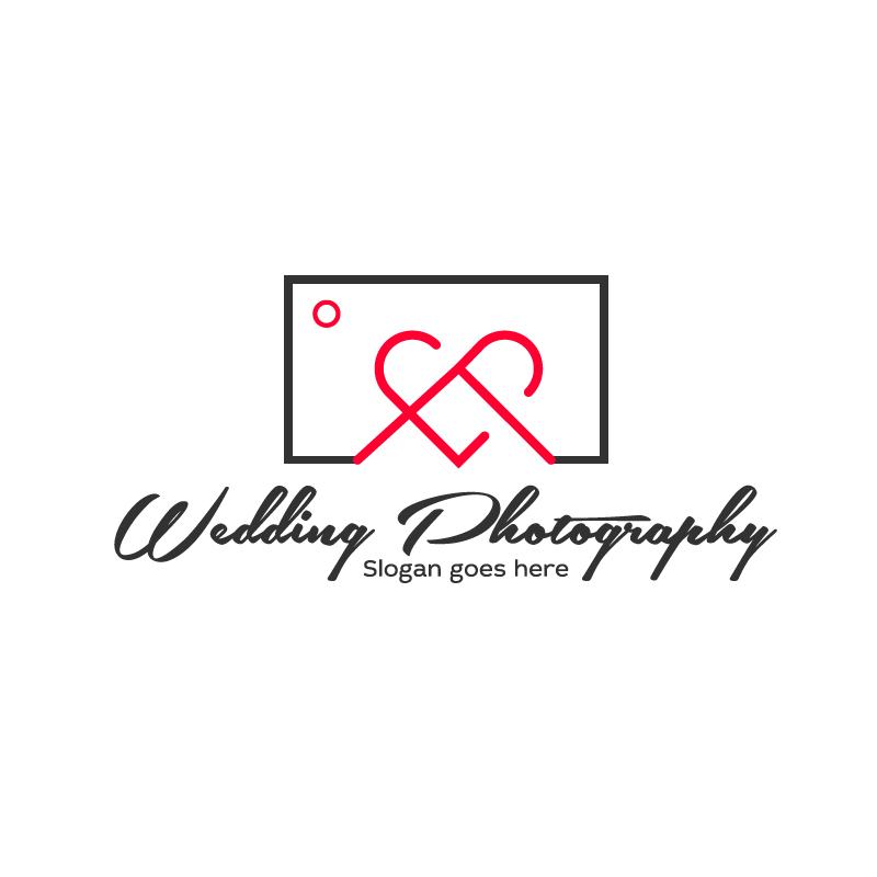 wedding photography  by Rocky   a perfect logo for Wedding Services