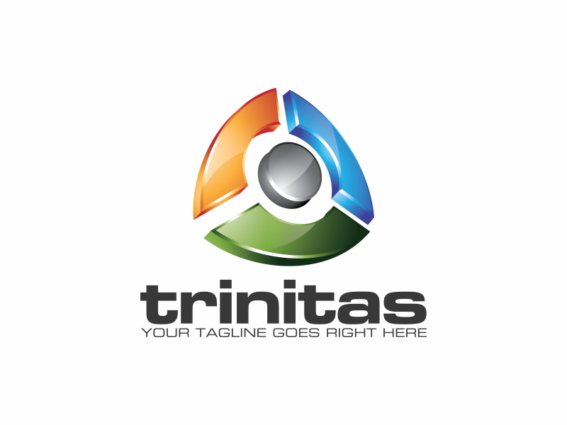trinitas logo by Putra_purwanto  a perfect logo for Technology