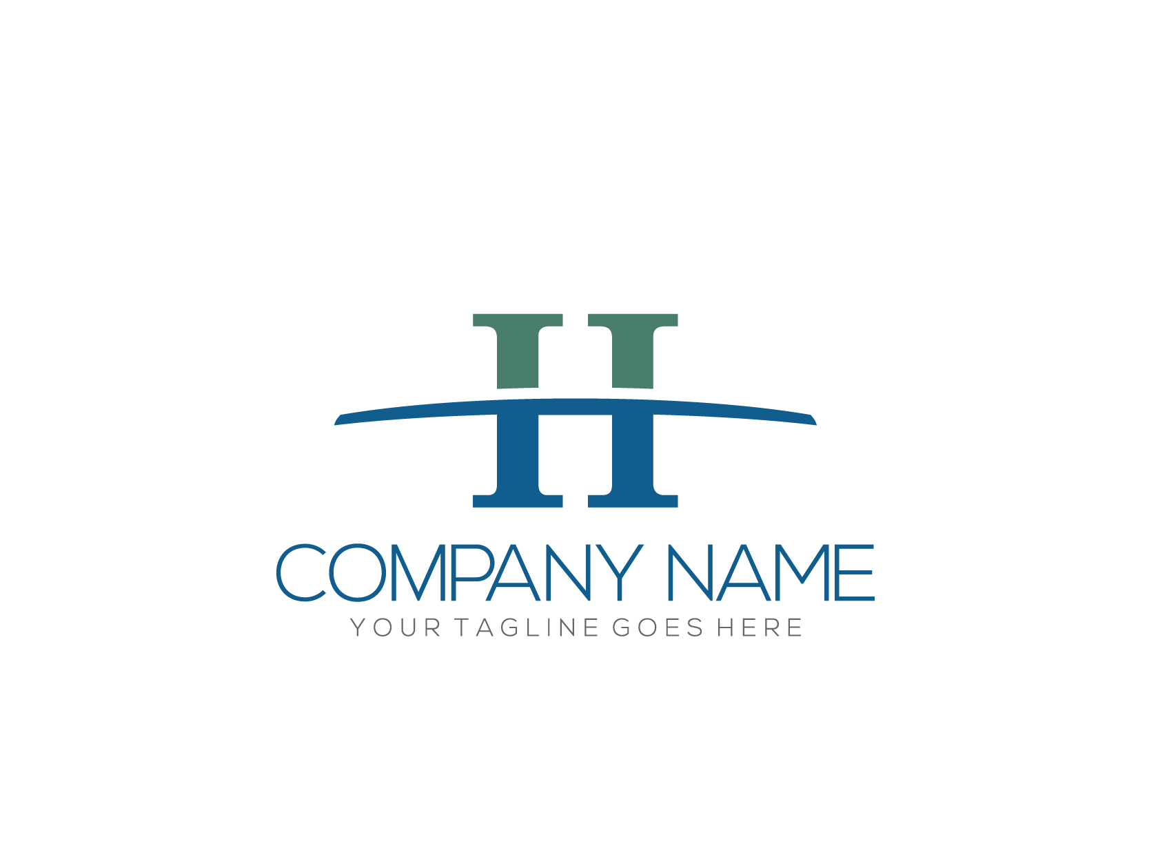 H Letter by Nurul Muflihun  a perfect logo for Business & Consulting