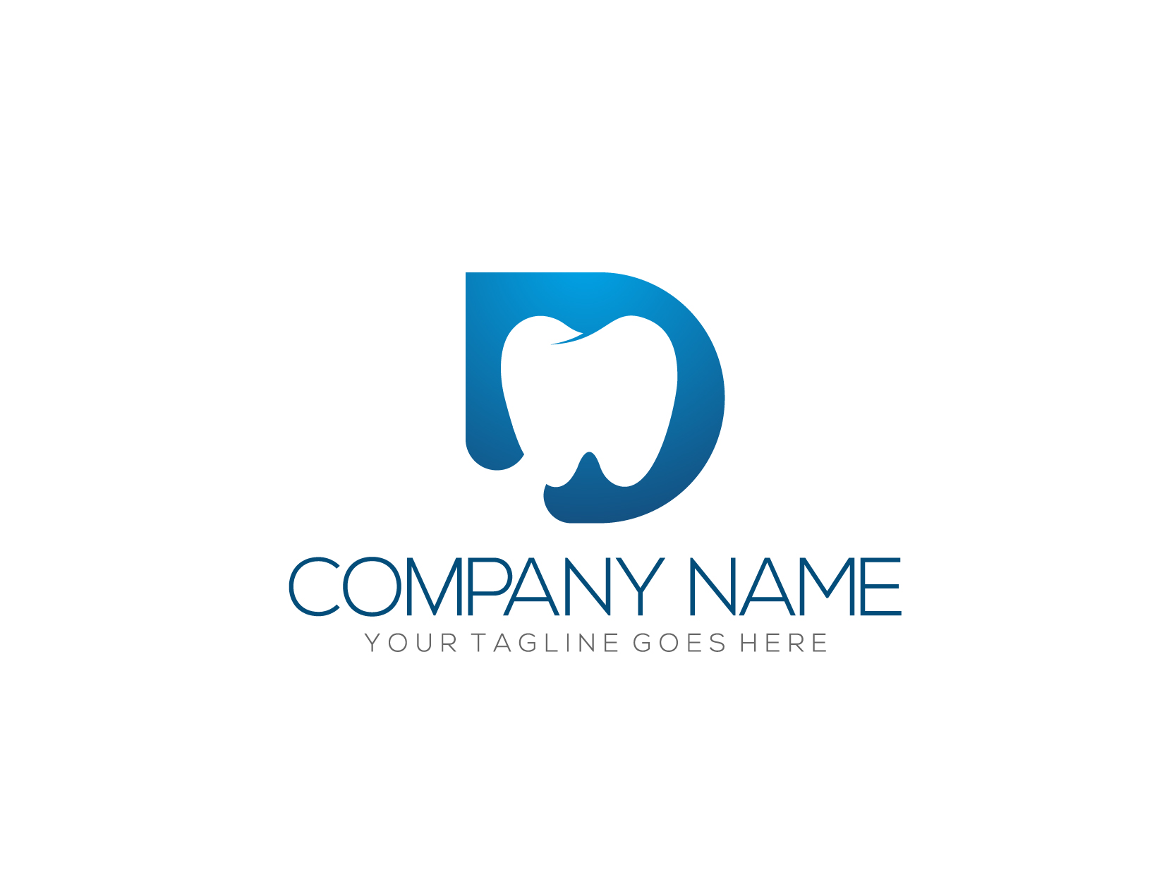 D for Dentist by Nurul Muflihun  a perfect logo for Medical & Pharmaceutical