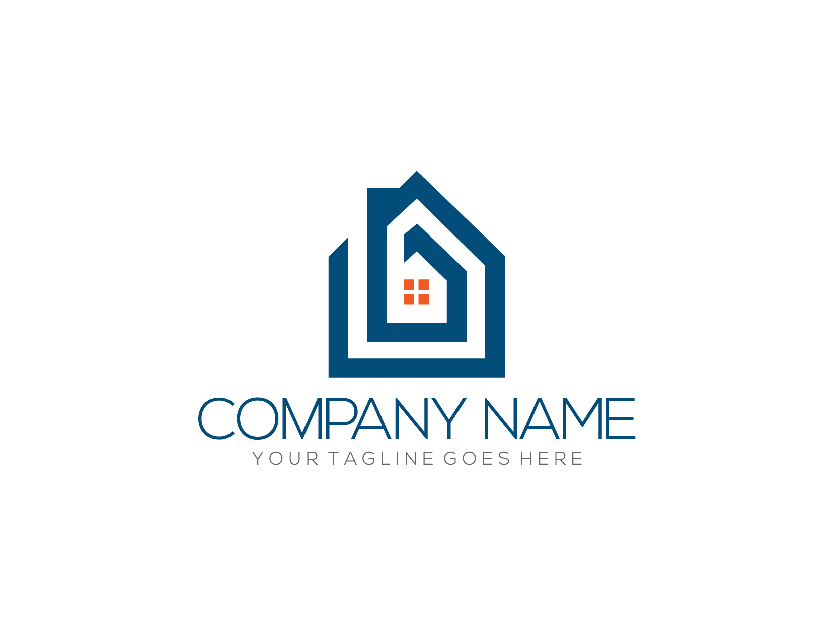 Simple homes by Nurul Muflihun  a perfect logo for Real Estate & Mortgage