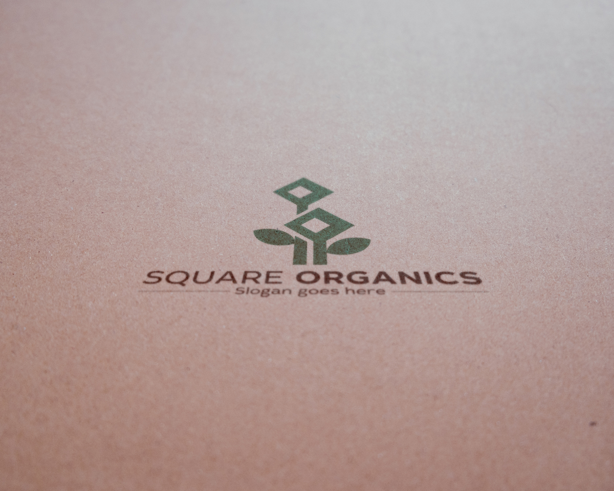 Square Organics by alexa.haleps11  a perfect logo for Agriculture