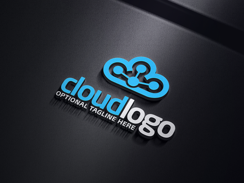 Data Cloud by Logabo  a perfect logo for Technology