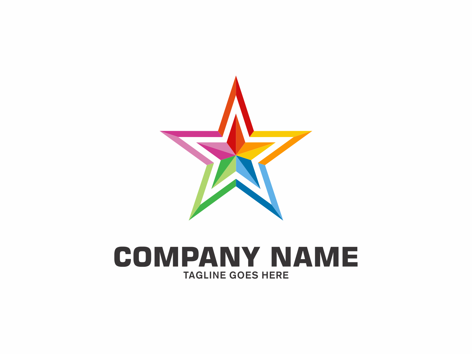 Color Star by Meremelek  a perfect logo for Technology