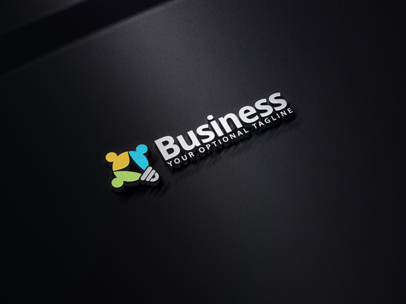 Solutions Group by Logabo  a perfect logo for Community & Non-Profit