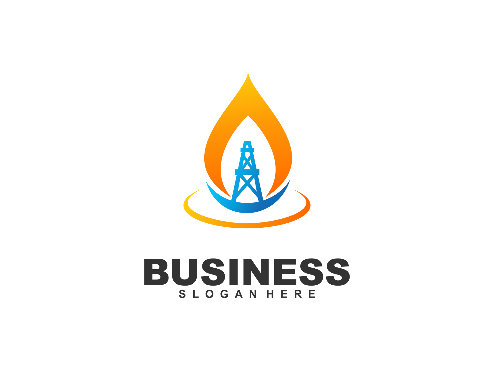 Oil & Gas Industri by Meremelek  a perfect logo for Technology