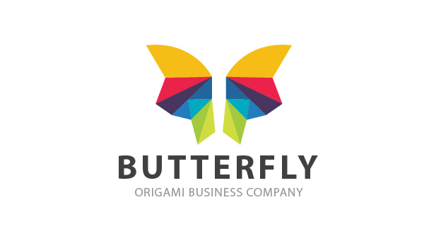 Butterfly Origami by rid1design  a perfect logo for Animals & Pets