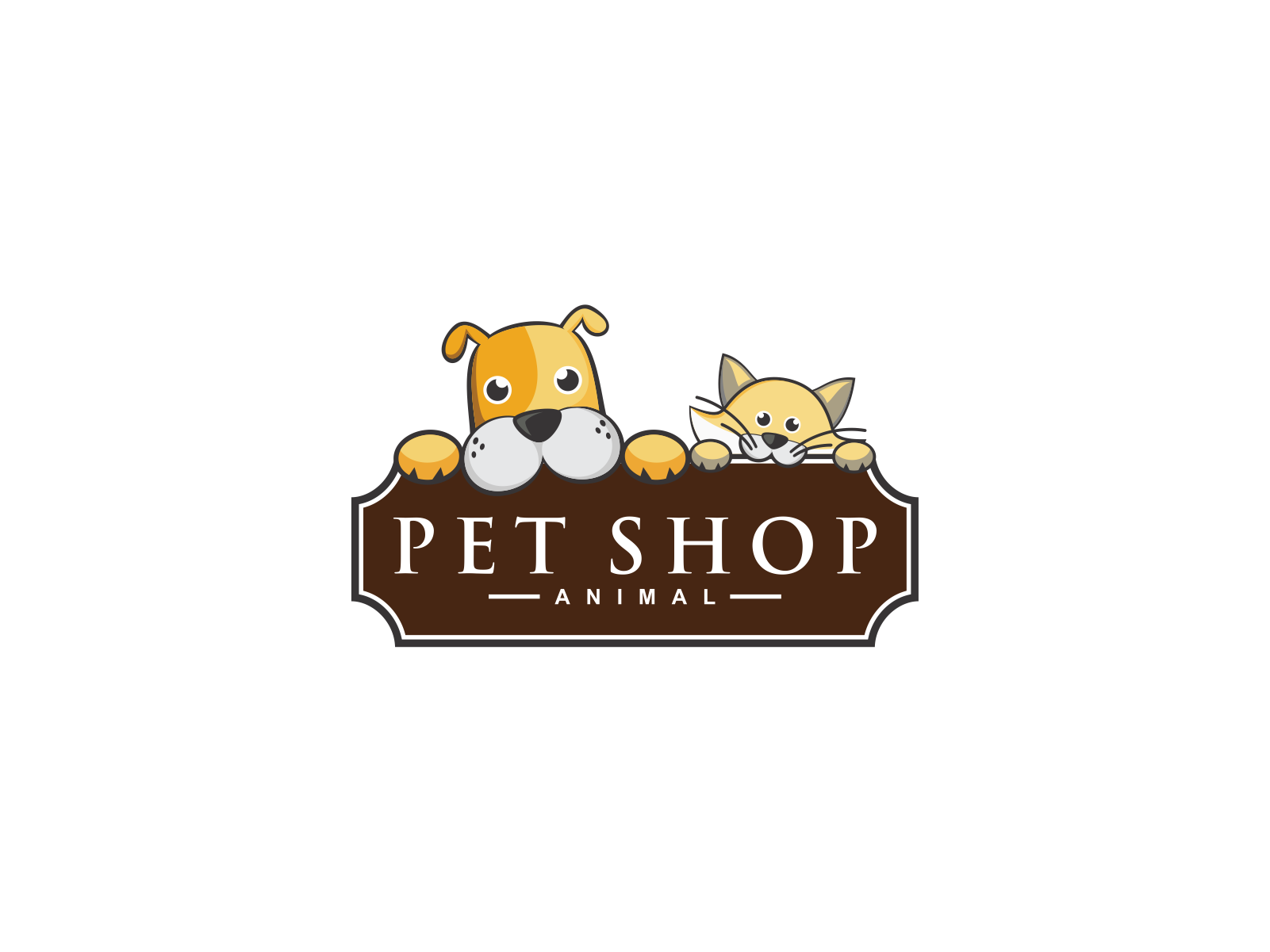 Pet Shop  by Meremelek  a perfect logo for Animals & Pets