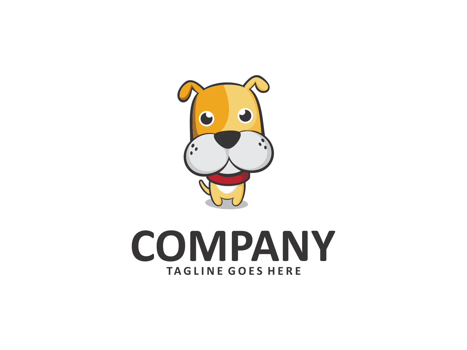 Dog Logo by Meremelek  a perfect logo for Animals & Pets