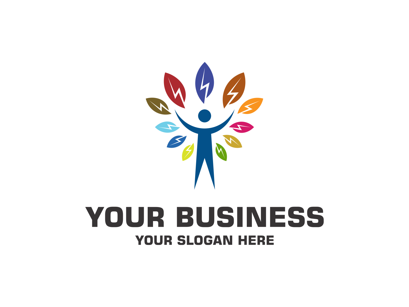 Nature Energy by Meremelek  a perfect logo for Accounting & Financial