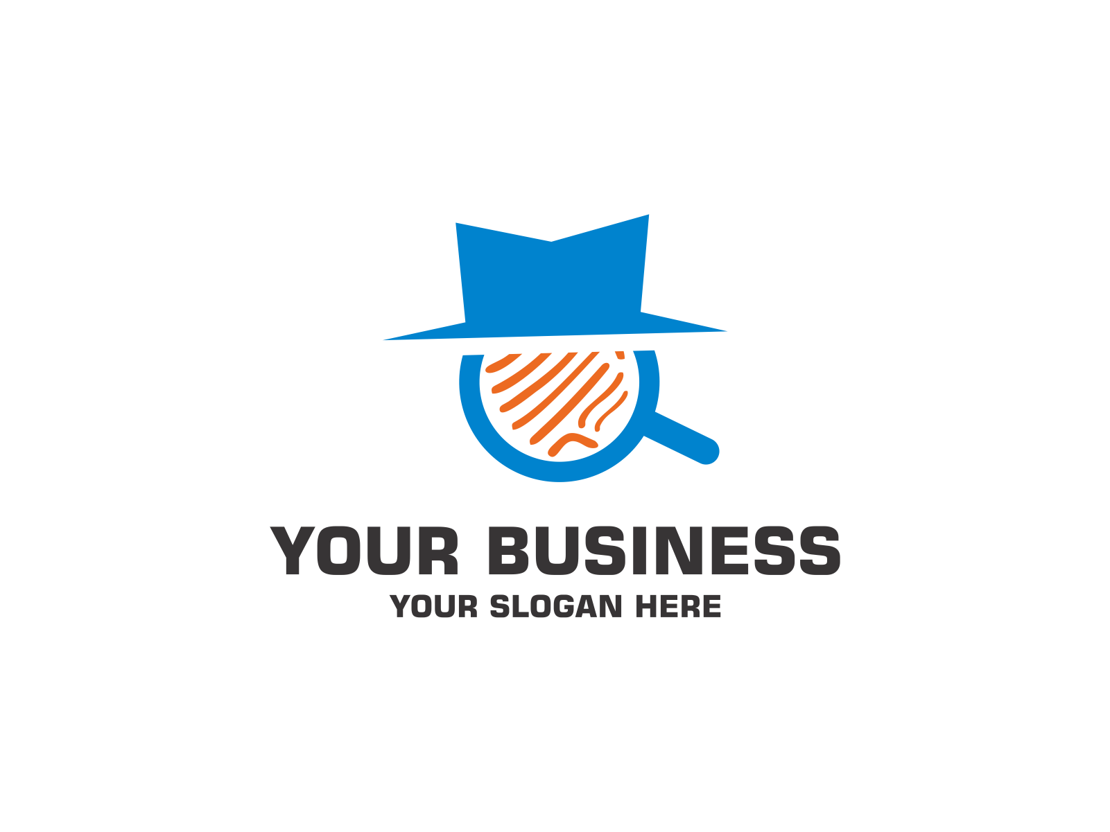Detective by Meremelek  a perfect logo for Accounting & Financial
