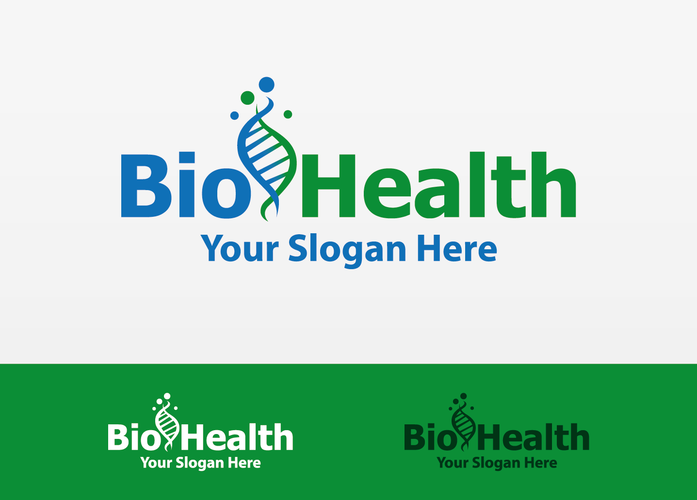 Bio Health by Himawanrushx  a perfect logo for Medical & Pharmaceutical