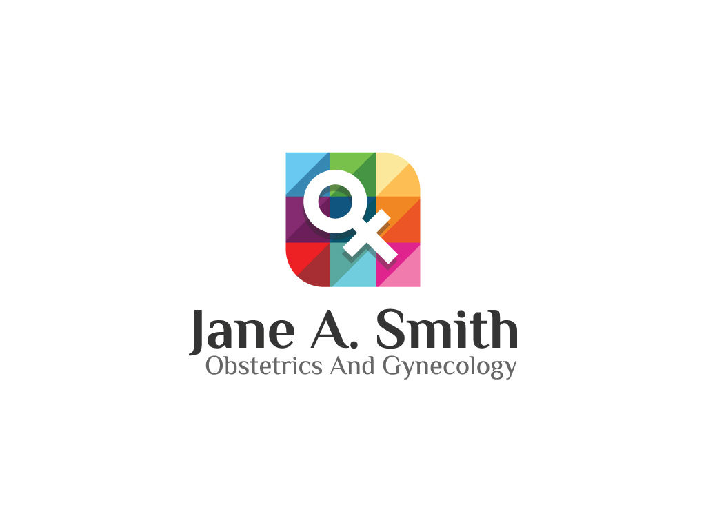 Female Logo by Dot Pixel Designs  a perfect logo for Business & Consulting