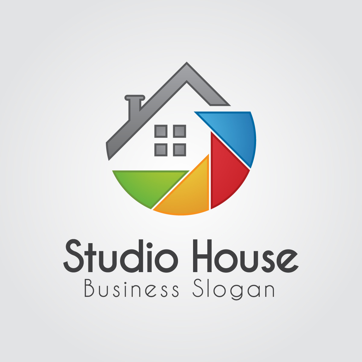 Building House Logo by Piici Studio  a perfect logo for Real Estate & Mortgage