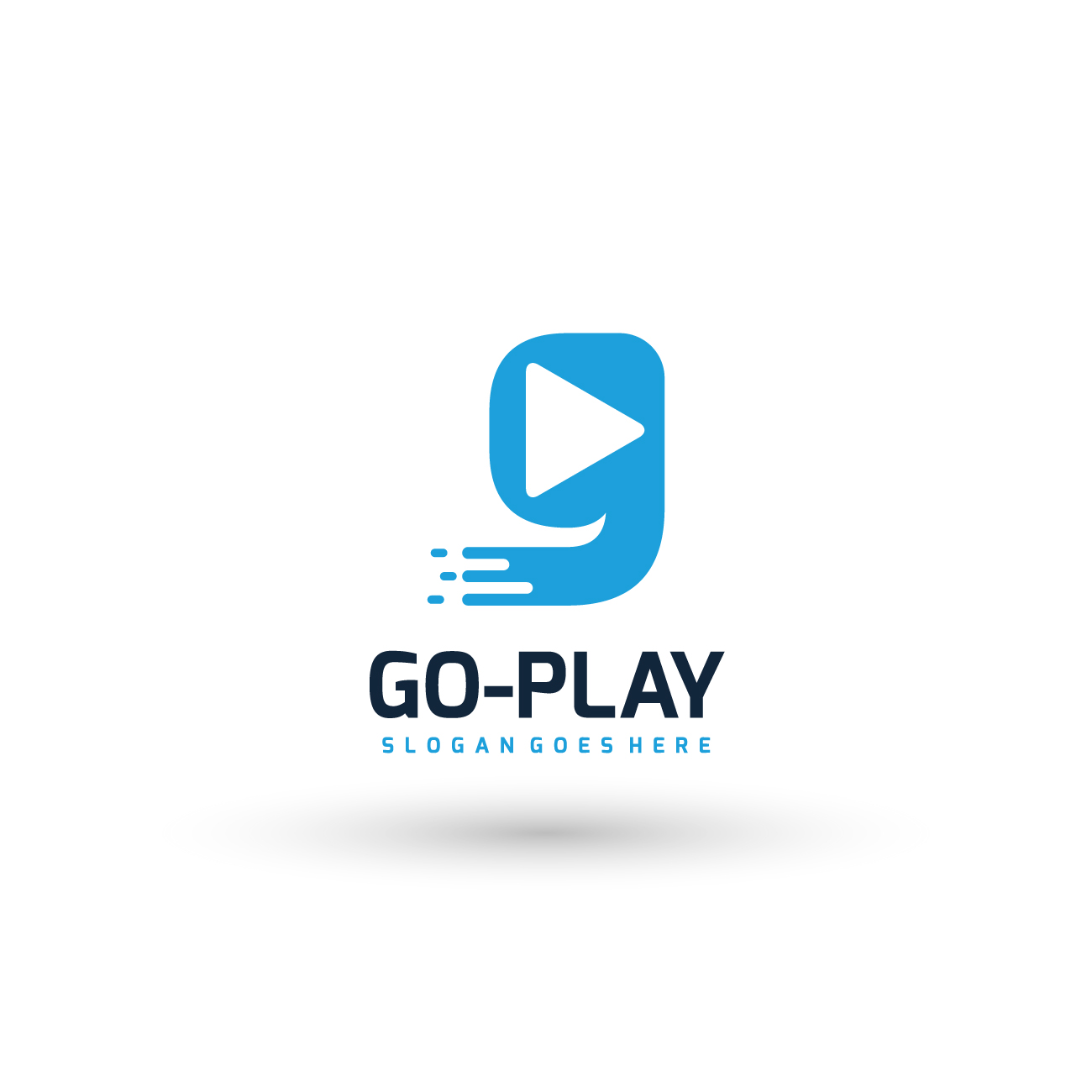 Go Play Media Logo by Piici Studio  a perfect logo for Entertainment & The Arts