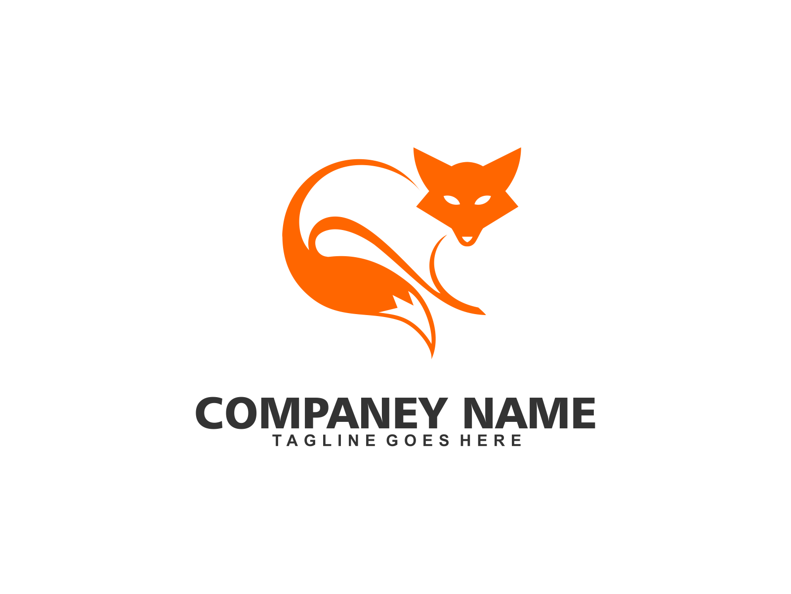 fox by Meremelek  a perfect logo for Animals & Pets