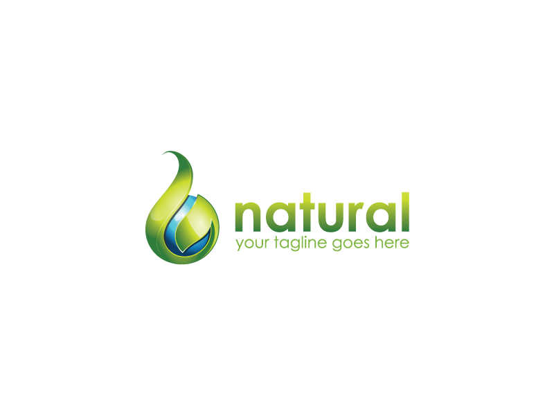 Natural  by Avriel  a perfect logo for Agriculture