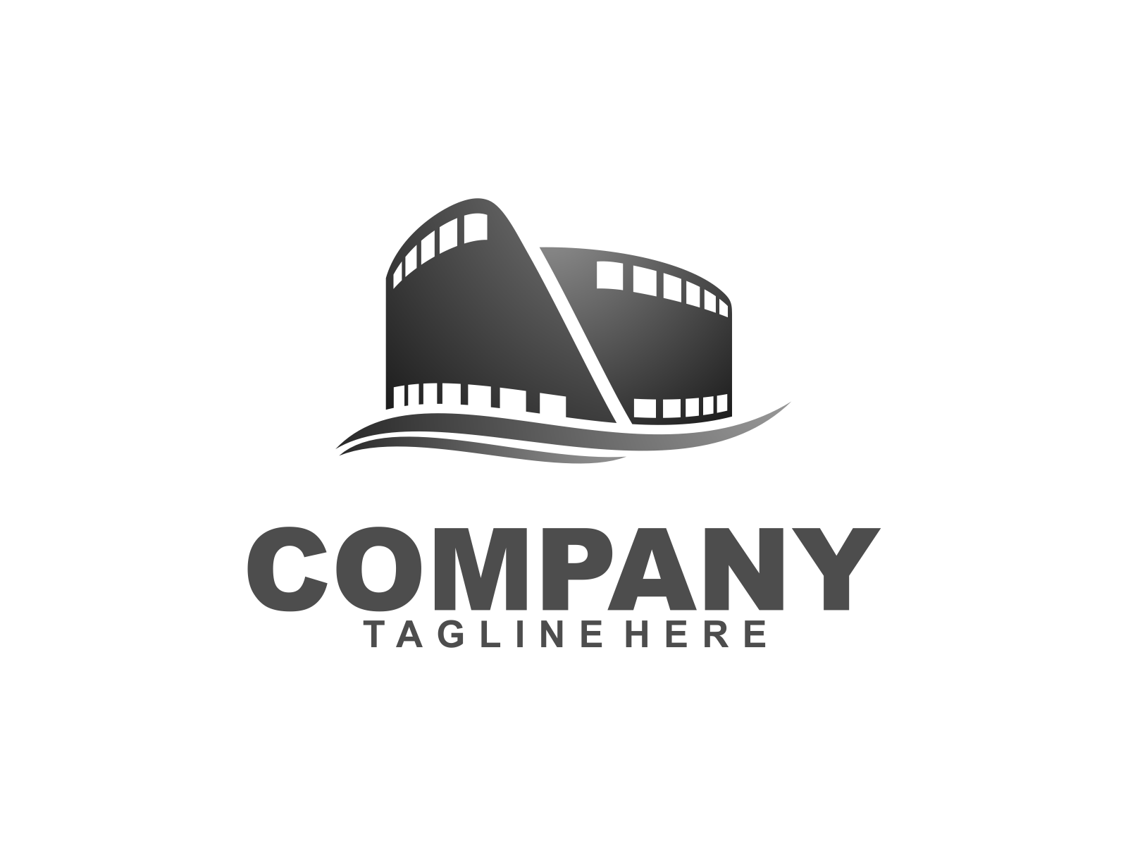 Studio Film by Meremelek  a perfect logo for Industrial