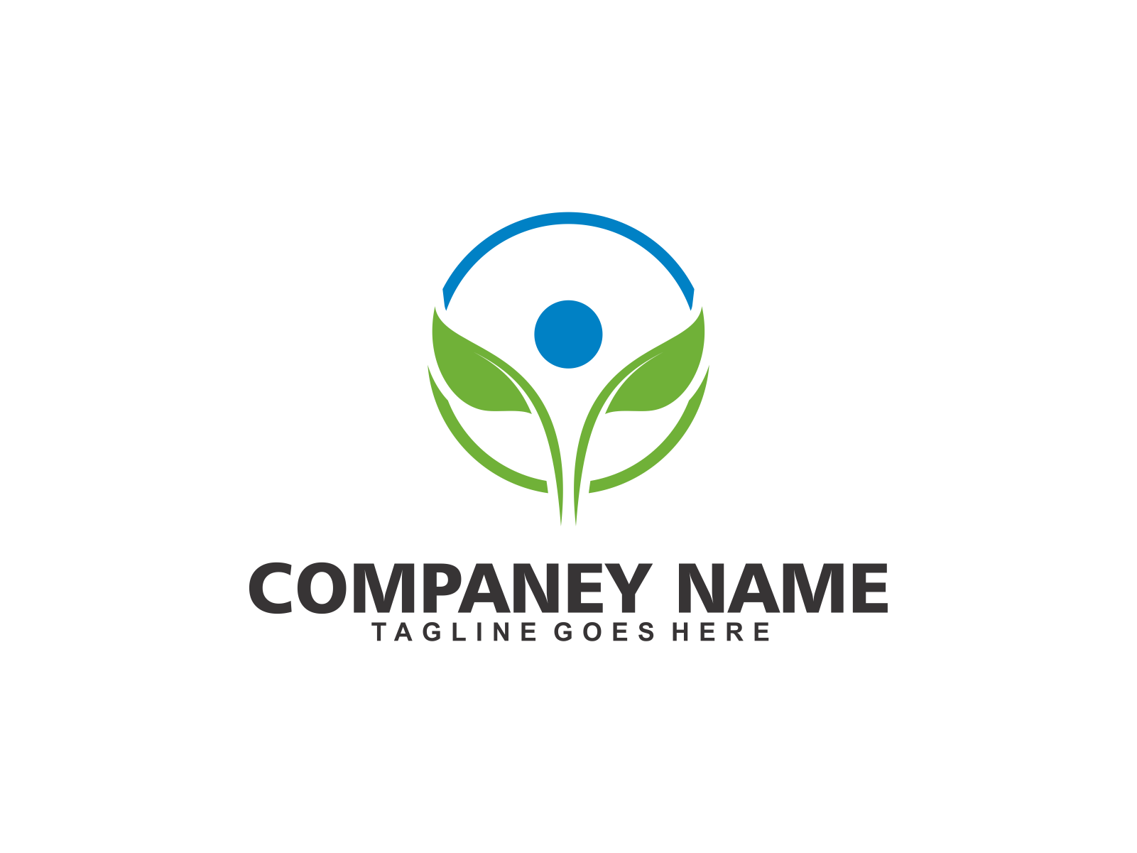 Health Leaf by Meremelek  a perfect logo for Accounting & Financial