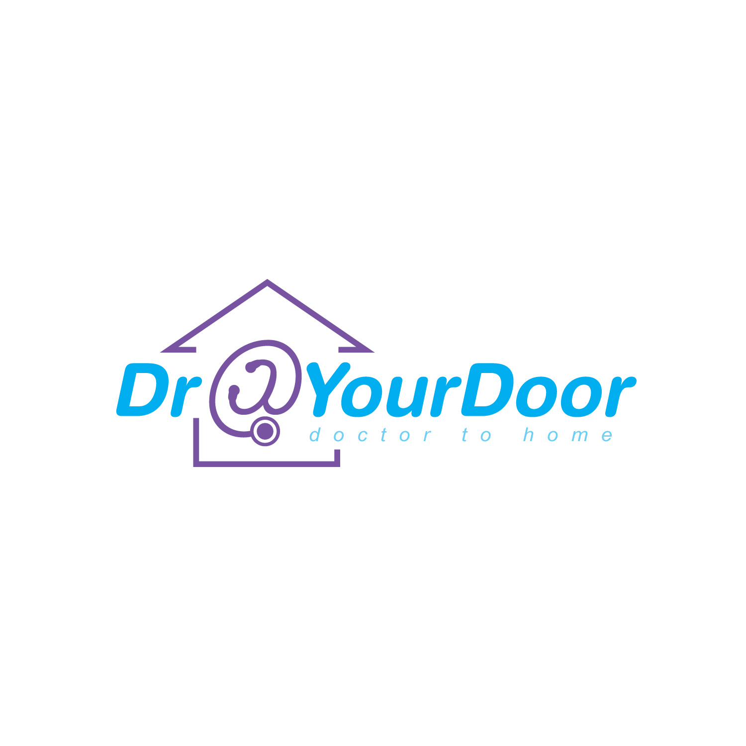 Doctor@YourDoor by Gmwire  a perfect logo for Medical & Pharmaceutical