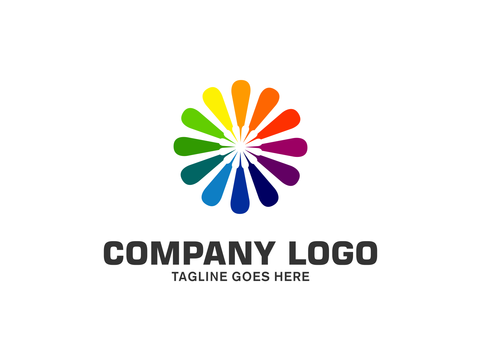 Color Harmony  by Meremelek  a perfect logo for Technology